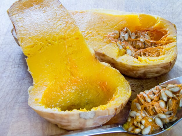 How to Roast a Whole Squash or Pumpkin