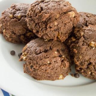 Gluten-Free Chocolate Chip Brownie Scones