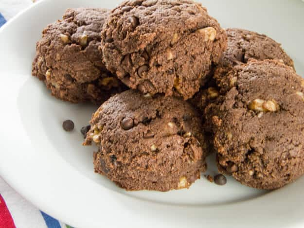 Gluten-Free Chocolate Chip Brownie Scones
