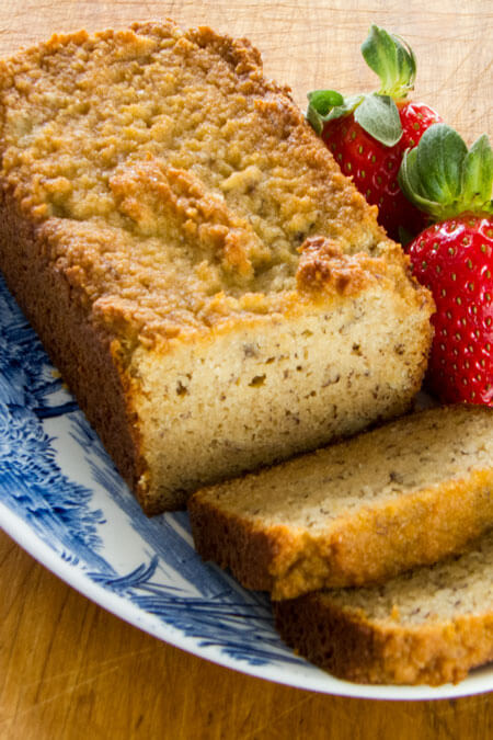 A paleo banana bread recipe that is gluten-free, grain-free, dairy-free, and refined sugar-free. | cookeatpaleo.com/gluten-free-banana-bread