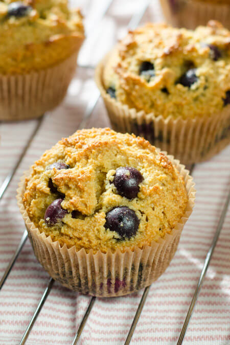 Blueberry Paleo Muffins on cookeatpaleo.com/blueberry-paleo-muffins-recipe/