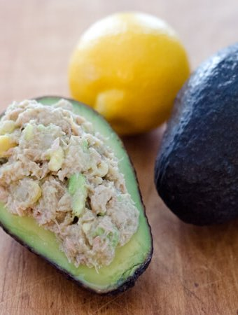Paleo Avocado Tuna Salad
