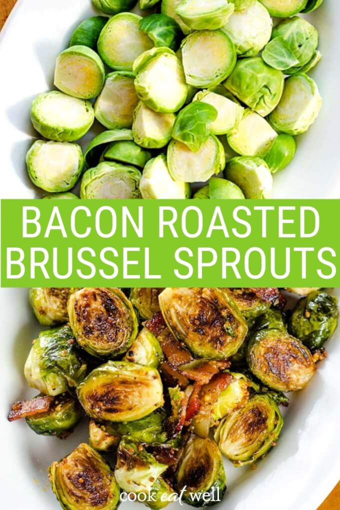 Bacon Honey Mustard Brussel Sprouts