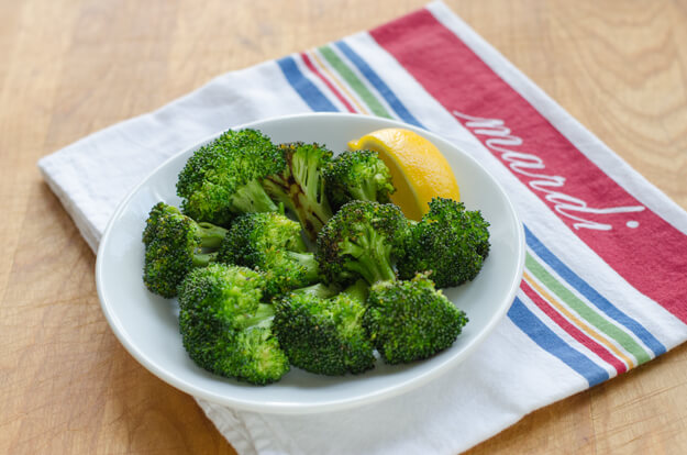 Simple Garlic Roasted Broccoli