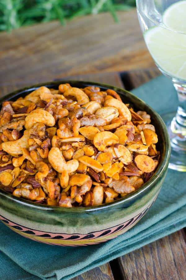 Paleo Snack Mix with mixed nuts