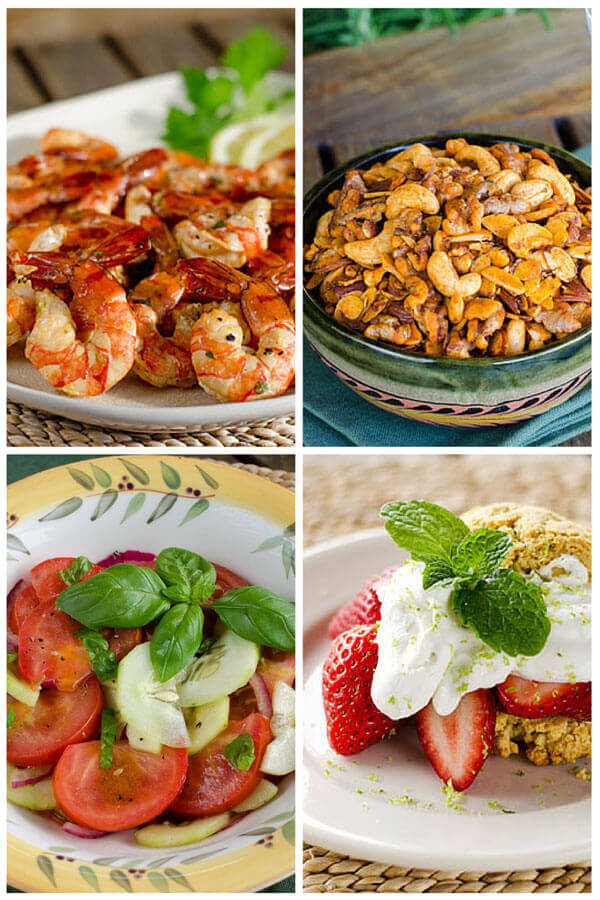 Looking for some paleo 4th of July recipes? This easy paleo menu includes something for everyone, plus a couple sweet treats for watching fireworks.