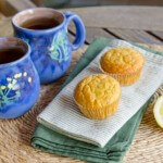 Lemon Poppy Paleo Muffins