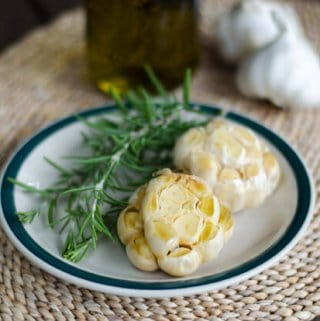 Roasted Garlic on the Grill