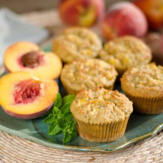 Peach Paleo Muffins Recipe
