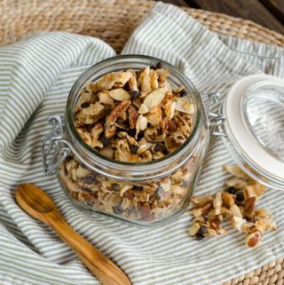 Pecan Chocolate Chip Coconut Granola