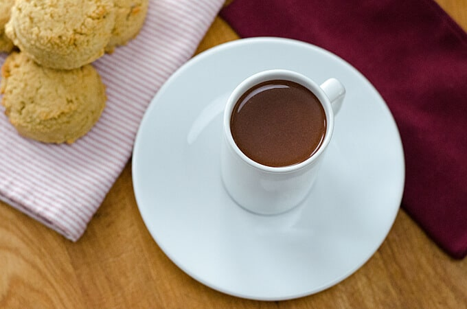Chocolate Recipes for Valentine's Day - Drinking Chocolate (Dark Hot Chocolate)