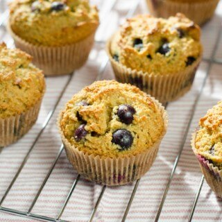 Paleo Blueberry Muffins [Video]