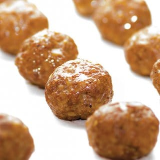 Chorizo meatballs from Melissa Joulwan's Well Fed 2