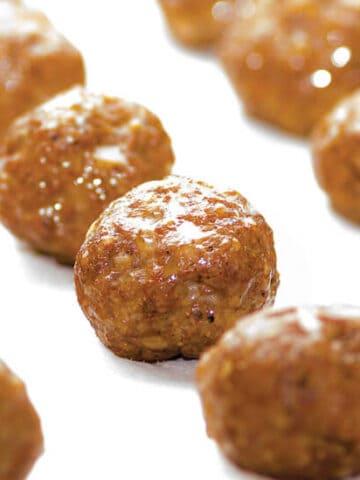 Chorizo meatballs from Melissa Joulwan's Well Fed 2