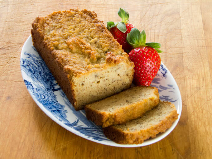 A paleo banana bread recipe that is gluten-free, grain-free, dairy-free, and refined sugar-free. | cookeatpaleo.com