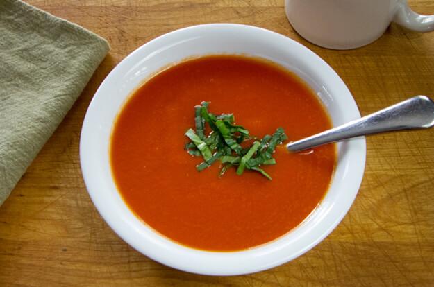 10-Minute Paleo Tomato Soup