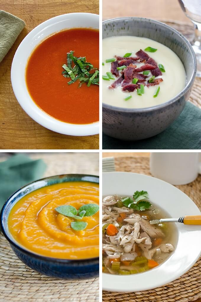 Top 5 Easy Paleo Soup Recipes - These easy soup recipes are all gluten-free and grain-free, with just a few ingredients.