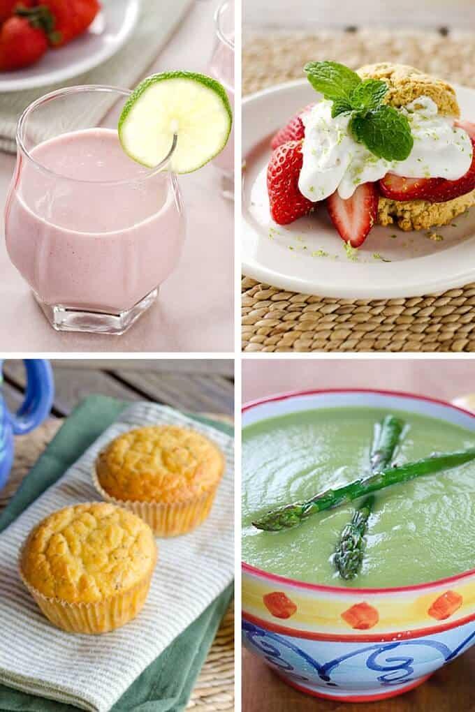 Paleo Recipes for Spring