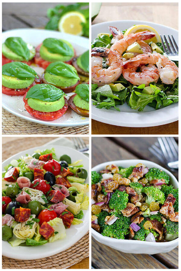 Here are 10 easy paleo summer salads — including my all-time favorite. And 3 easy paleo dressing recipes. All are gluten-free, grain-free and dairy-free.