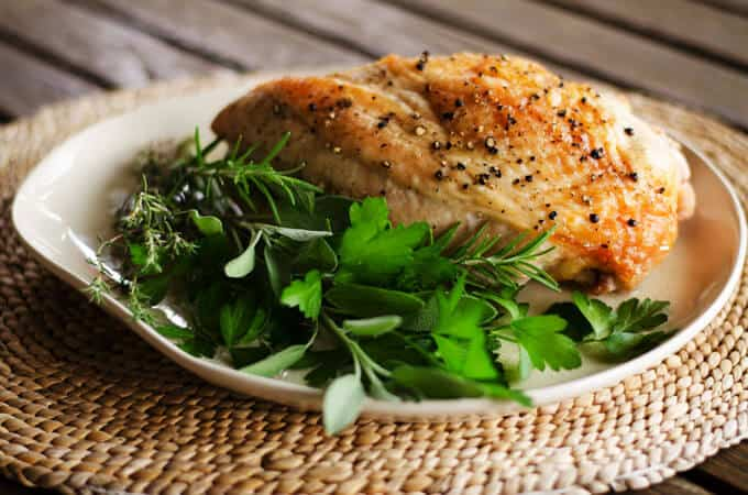 Simple Roast Turkey Breast