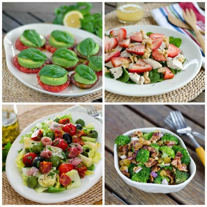 6 Easy Paleo Summer Salads