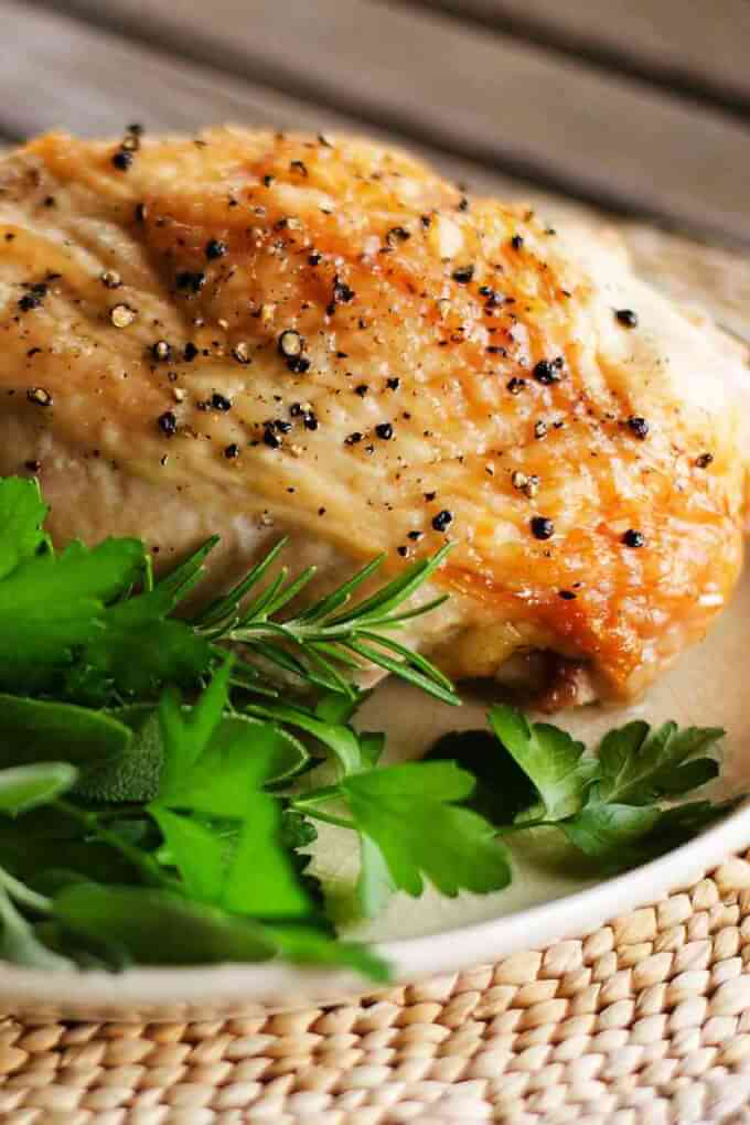 Easy baked turkey breast