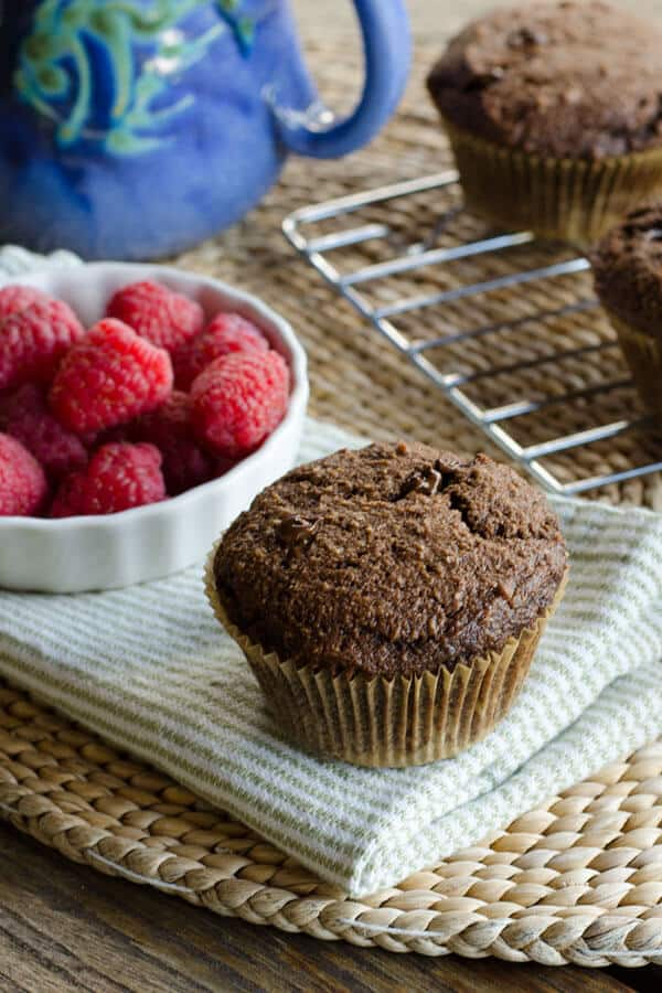 Chocolate Chocolate Chip Muffins | cookeatpaleo.com