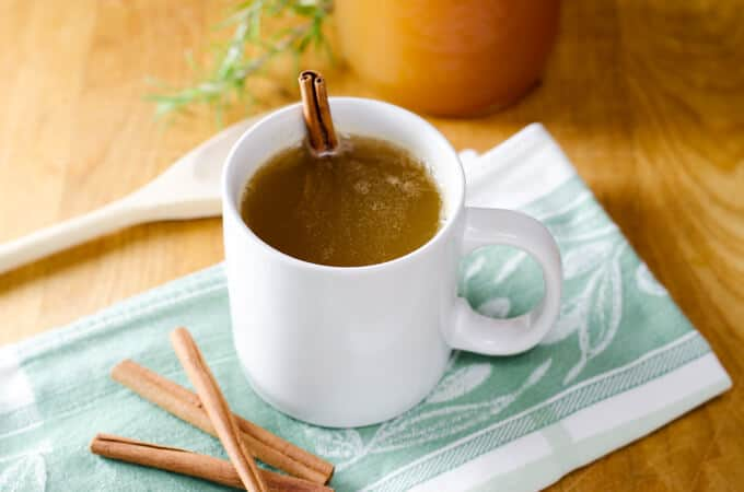 10 Easy Paleo Recipes for Fall - Hot Apple Cider