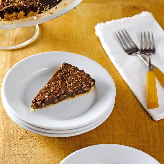 Chocolate Tart with Almond Flour Crust