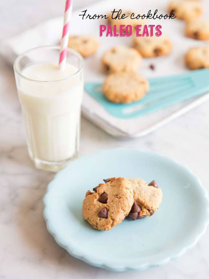 Chocolate Chip Cookies - from the cookbook Paleo Eats | Easy Paleo Cookie Recipes for Holiday Baking