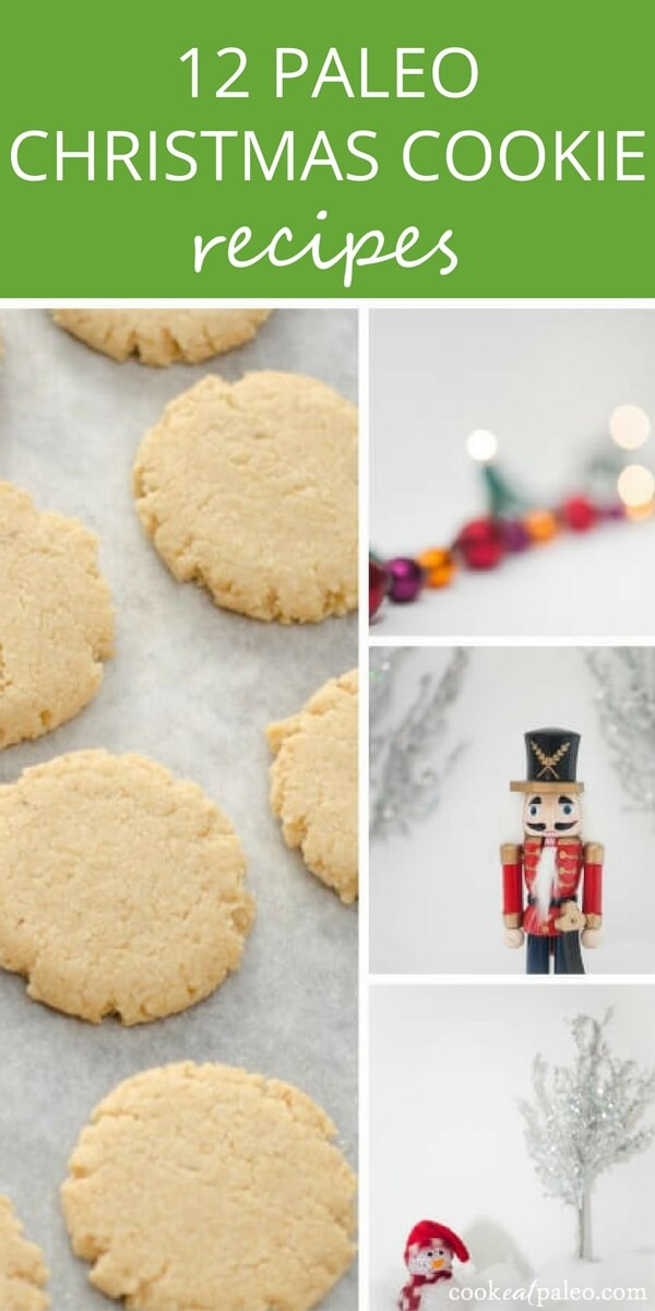 Paleo Christmas cookie recipes that are sure to bring a smile to your elves. All of these cookies are gluten-free and grain-free.