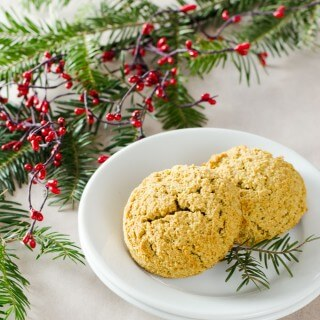 Paleo Gingerbread Spice Scones
