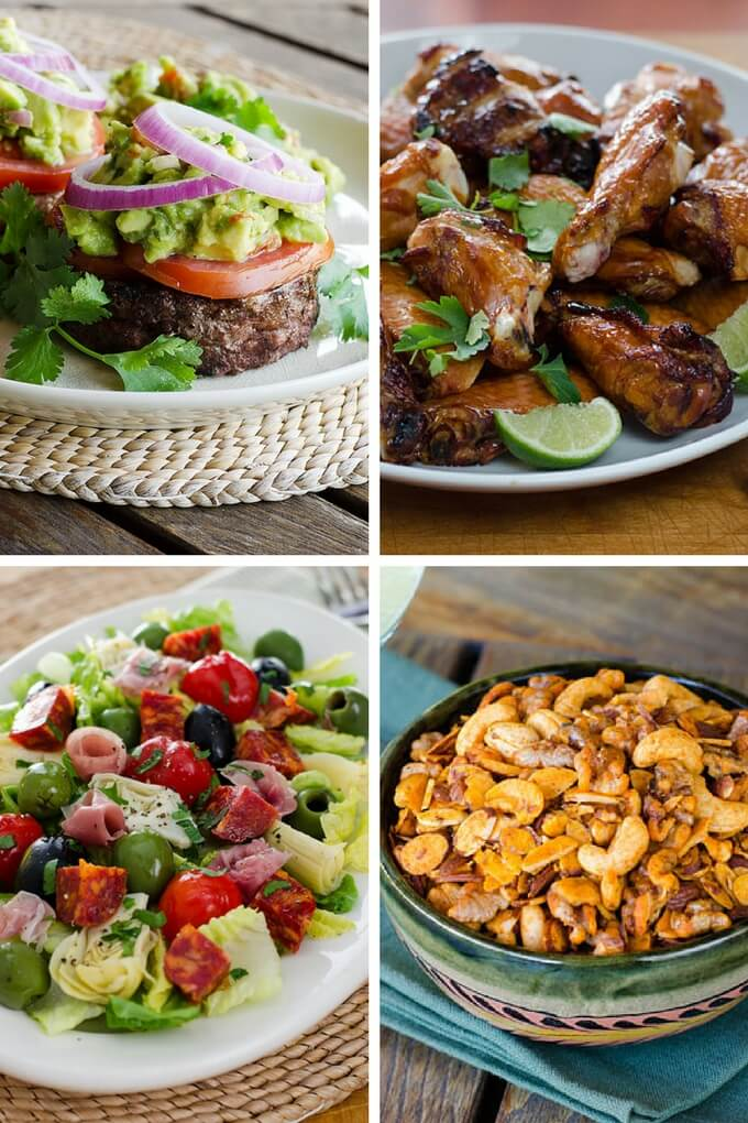 35 Paleo Super Bowl Recipes - a round up of game day favorites chili, chips, wings and more | cookeatpaleo.com