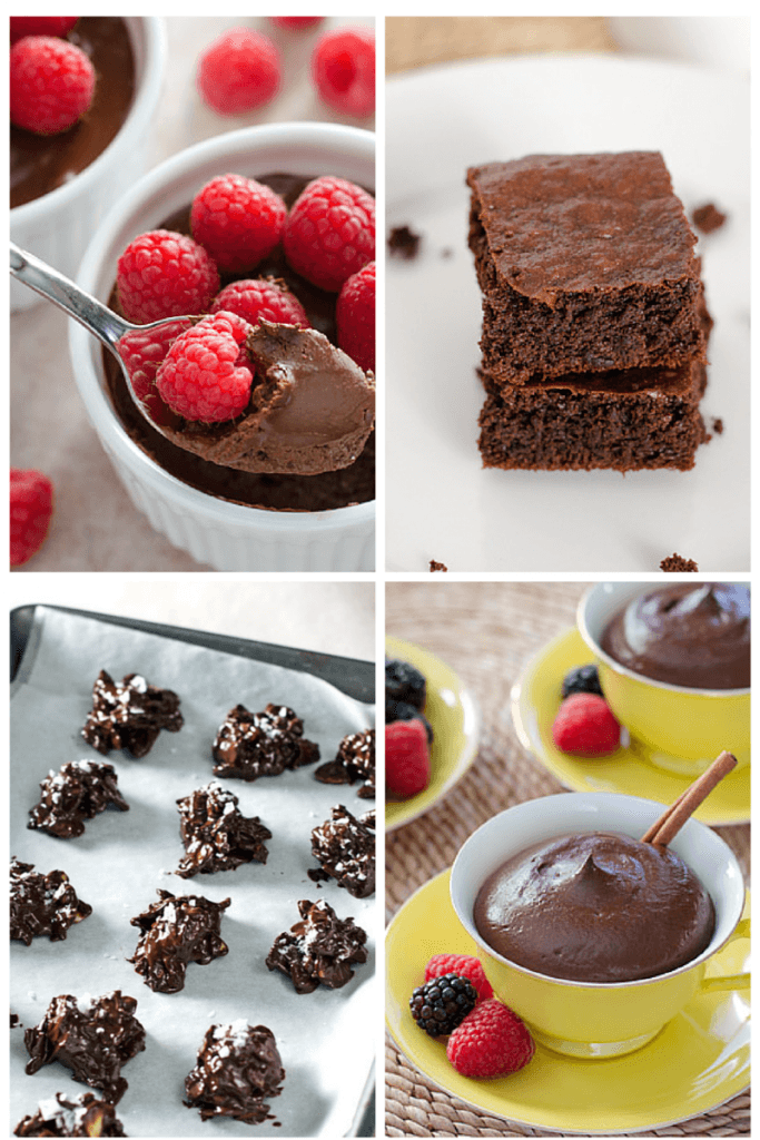 From ice cream to hot chocolate, breakfast to dessert, here are 10 easy healthy chocolate recipes for Valentine's Day. All are gluten-free, grain-free and refined sugar-free.| Cook Eat Paleo