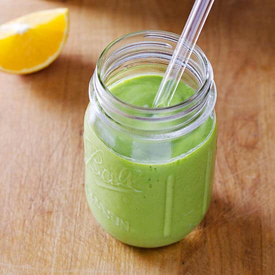 paleo mango green smoothie