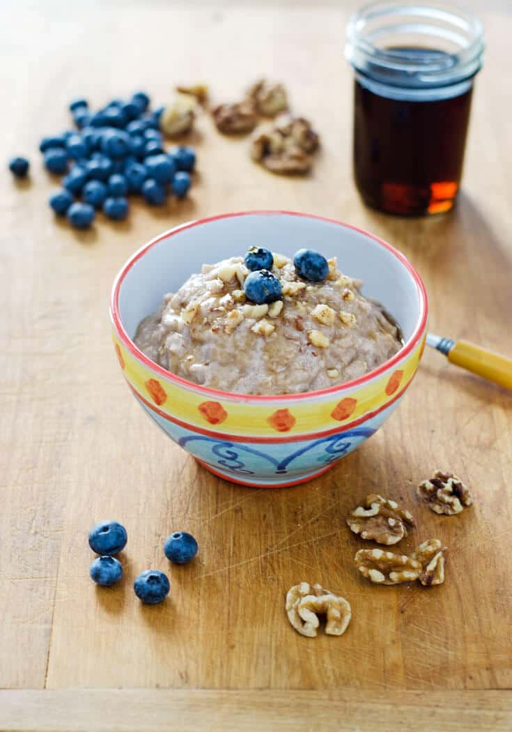 "Paleo ""Instant Oatmeal"" 