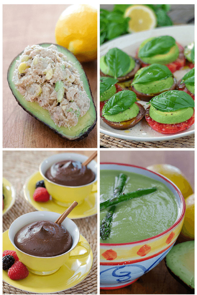 10 quick and easy paleo avocado recipes for breakfast, lunch, dinner, snacks and dessert!