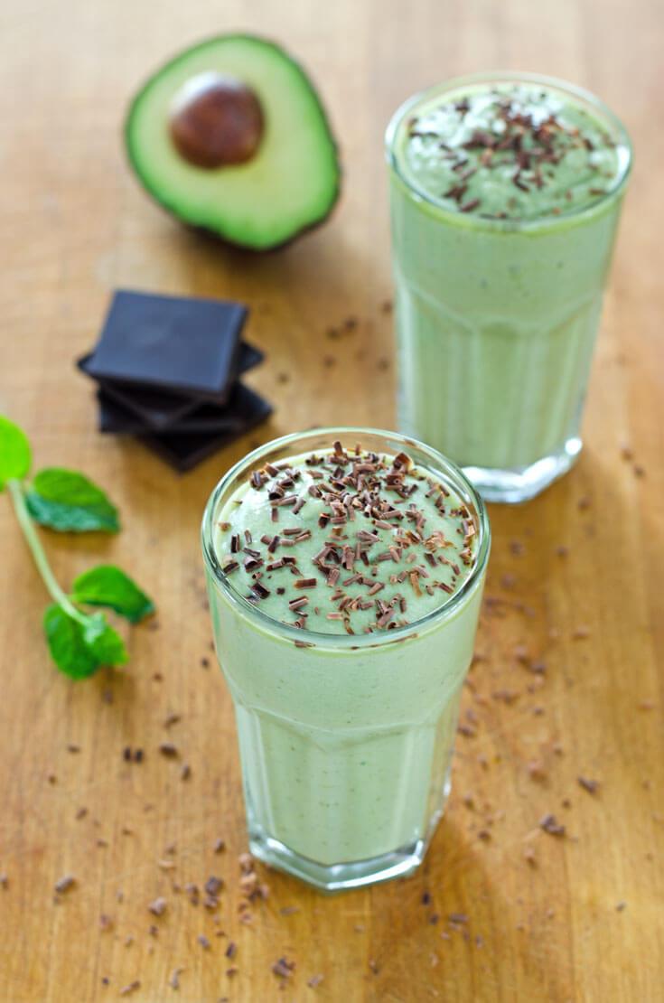 Healthy Shamrock Shake | Top 10 Cook Eat Paleo Recipes of 2015
