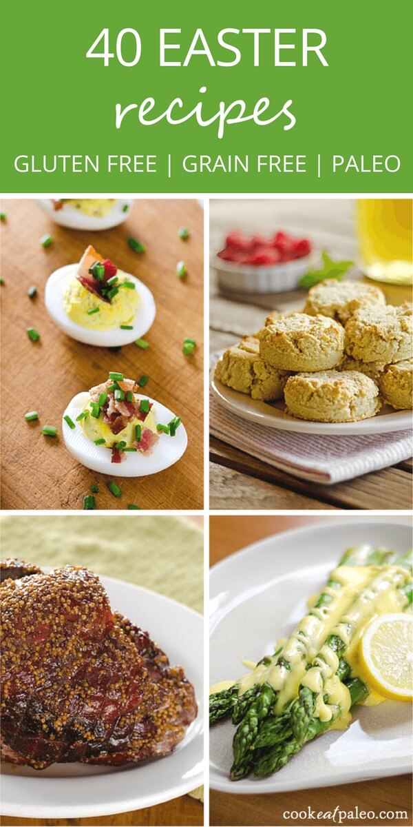 Looking for paleo Easter recipes? Brunch, lunch or Easter Sunday dinner—starters, entrees, salads & sides, breads, and desserts—it's all the delicious paleo Easter recipes you'll need for your menu. Traditional holiday favorites made gluten-free and grain-free!
