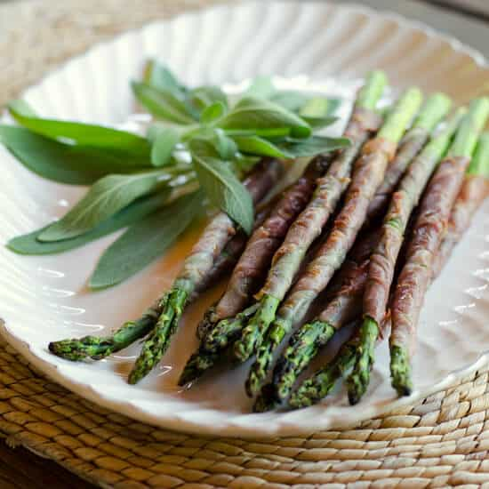 Grilled Asparagus with Prosciutto   101 Ultimate Paleo Grilling Recipes for Easy Summer Meals