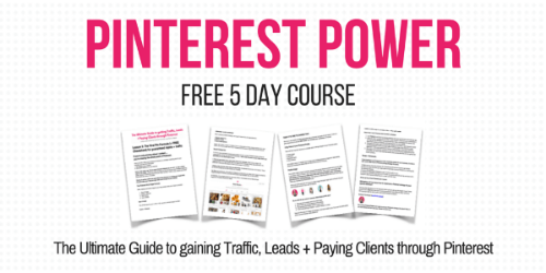 Pinterest Power Free Course