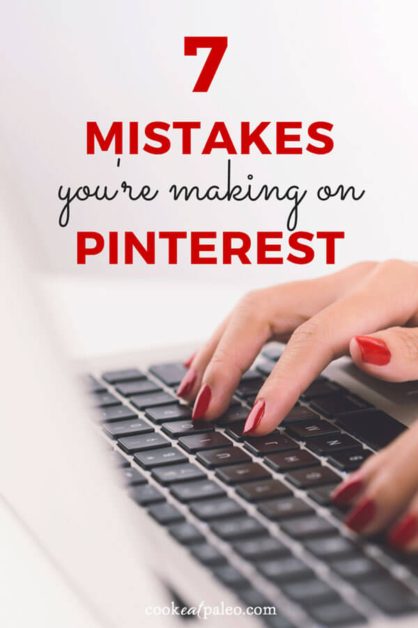 If you're not seeing significant traffic from Pinterest, take a closer look at your account. You may be making some of these common Pinterest mistakes.