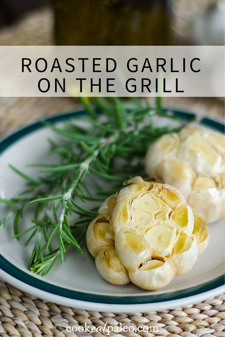 If you've never roasted garlic on the grill before, you won't believe how easy it is. With just 3 essential ingredients you have a creamy garlic spread.