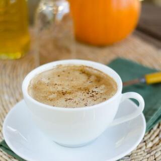 Pumpkin Spice Coconut Latte