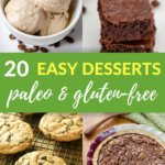 20 Paleo Desserts To Try When You're Craving Something Sweet - Cook Eat Paleo - Pinterest