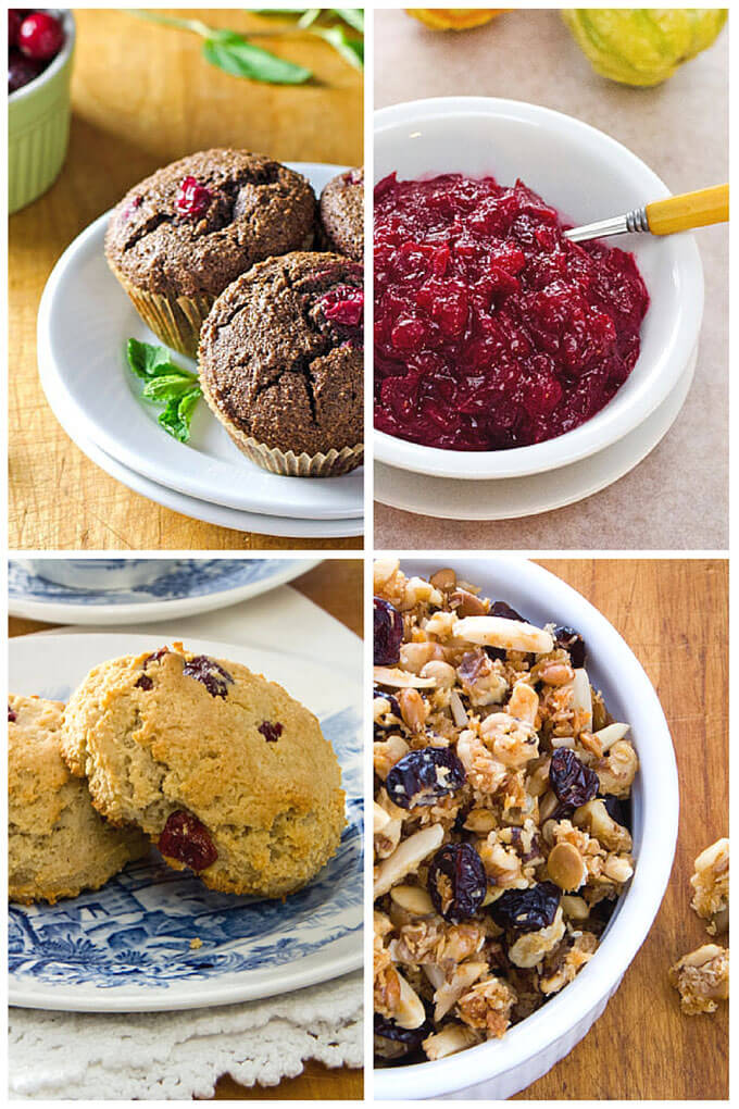 Easy paleo cranberry recipes to try - from muffins and scones to sauce to granola. All are gluten-free, grain-free, and perfect for the holidays. | Cook Eat Paleo