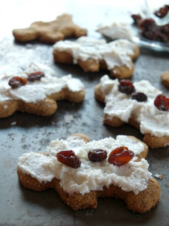 These paleo gingerbread cookies filled with holiday spices and sweetened with a secret ingredient. They are naturally gluten-free, grain-free, and dairy-free.
