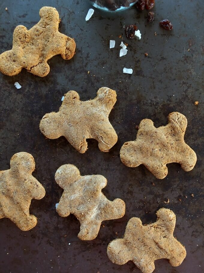 Paleo gingerbread cookies are filled with holiday spices and sweetened with a secret ingredient. They are naturally gluten-free, grain-free, and dairy-free.