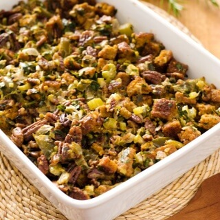 Paleo Thanksgiving Stuffing | Cornbread Dressing Recipe