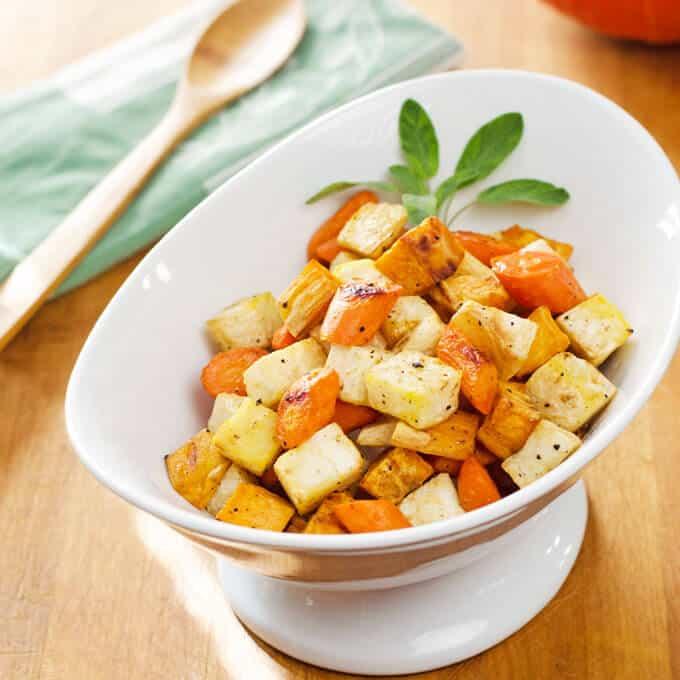 Easy Roasted Root Vegetables